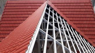 Kết cấu nhà thép mái ngói