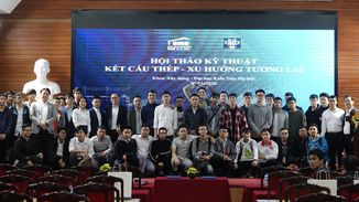 BMB Steel hold a seminar at Hanoi Architectural University