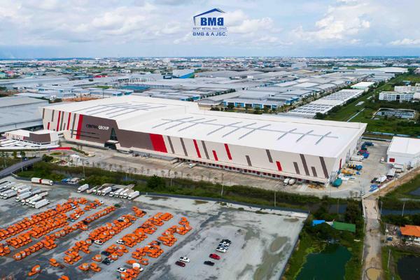 Tổng kho Logistic của Central Group tại Thái Lan