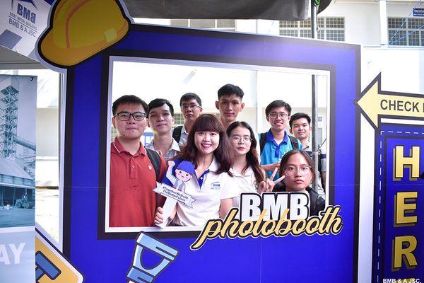 BMB STEEL - JOB FAIR 2021 IN HO CHI MINH CITY UNIVERSITY OF TECHNOLOGY - VNU HCMC