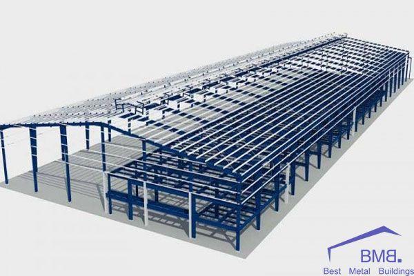 Prestigious prefabricated factory construction company - BMB Steel
