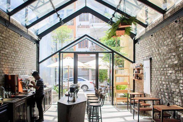 Xây dựng quán cà phê tiền chế - Phong cách mới năm 2021
