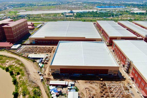 Top 10 mẫu công trình nhà xưởng công nghiệp đẹp 2021