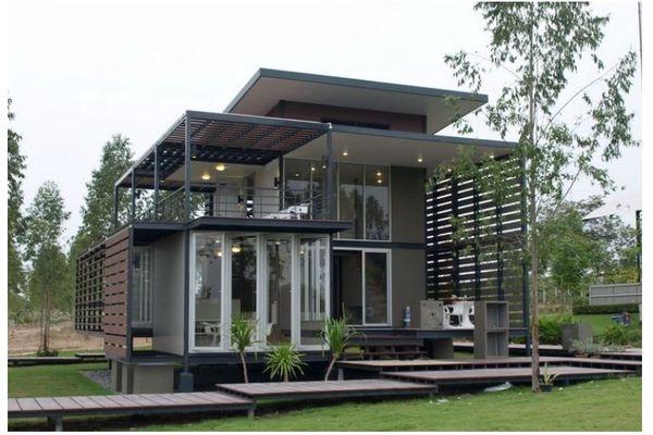 Top mẫu nhà ở khung thép đẹp, tiện nghi, hiện đại nhất