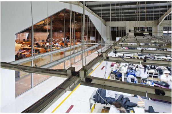Những lưu ý khi thiết kế xưởng may công nghiệp