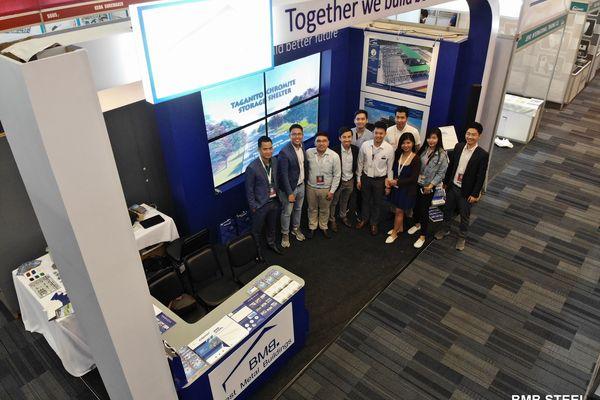 BMB STEEL PARTICIPATED WORLDBEX 2019 IN MANILA, PHILIPPINES