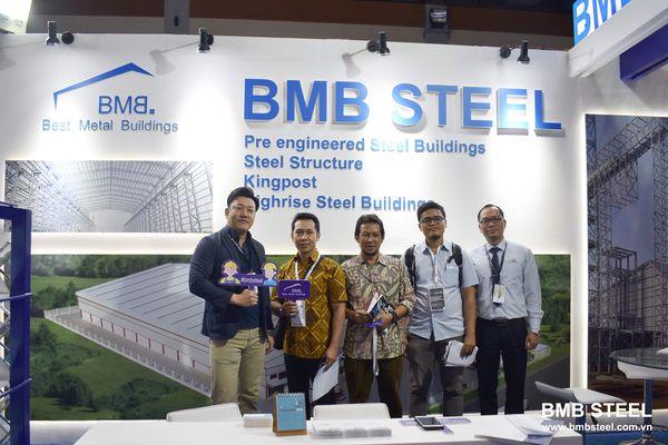 BMB STEEL PARTICIPATED MEGABUILD'19 IN INDONESIA