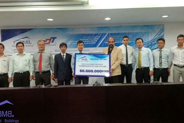 BMB STEEL HOLDS SUCCESSFUL TECHNICAL SEMINAR AT TON DUC THANG UNIVERSITY