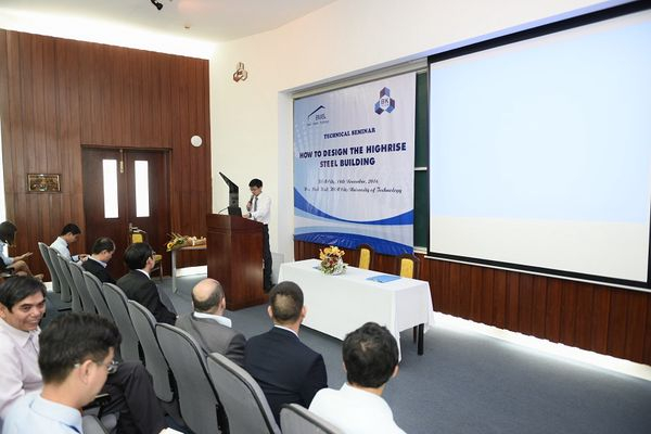 BMB STEEL HELD SUCCESSFUL TECHICAL SEMINAR AT HCM UNIVERSITY OF TECHNOLOGY