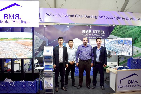 BMB Steel tham dự triển lãm PhilConstruct 2018 ở Manila, Philippines