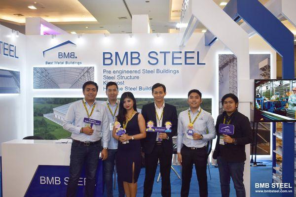 BMB STEEL PARTICIPATED IN PHILCONSTRUCT VISAYAS 2019 IN CEBU, PHILIPPINES