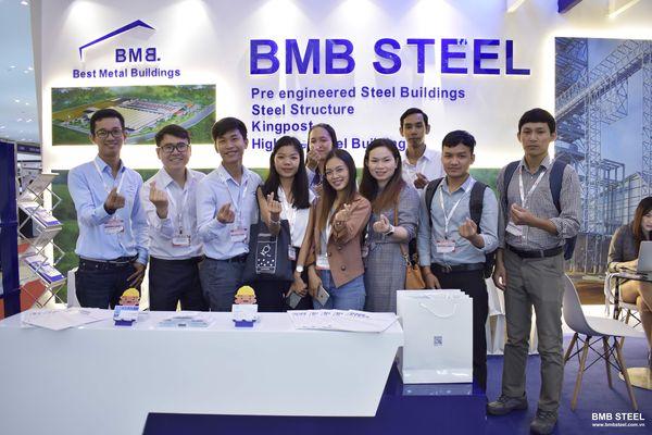 BMB STEEL PARTICIPATED IN CAMBUILD 2019 IN CAMBODIA