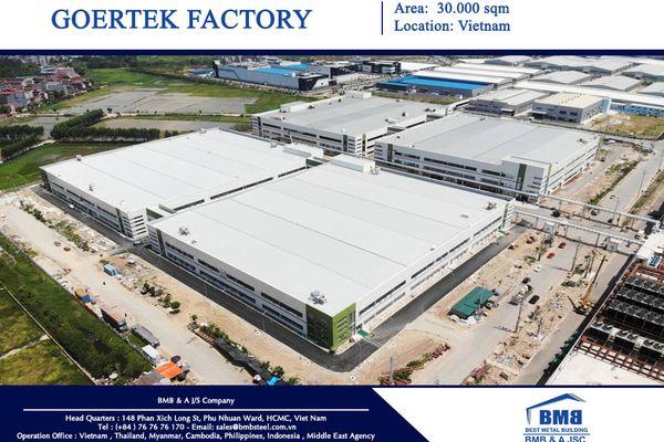 Dự án nhà máy Goretek
